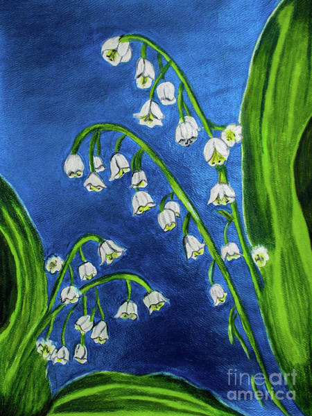 Lilies Of The Valley Mixed Media - Muguet by Dawn Siegler