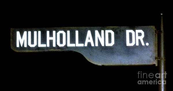 Mulholland Photograph - Muholland Drive, A Film By David Lynch by Thomas Pollart