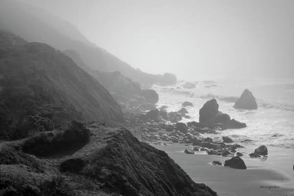 Photograph - Muir Beach I Bw by David Gordon