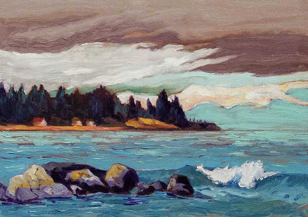 Painting - Muir Creek Sketch by Rob Owen