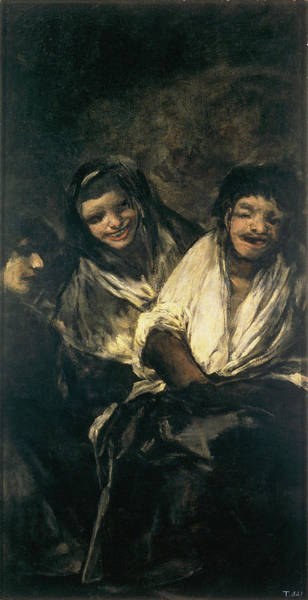 Confident Painting - Mujeres Riendo Women Laughing by Francisco de Goya