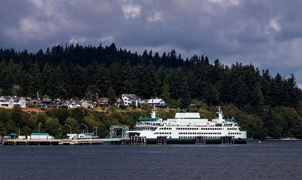Photograph - Mukilteo Ferry by Ed Clark