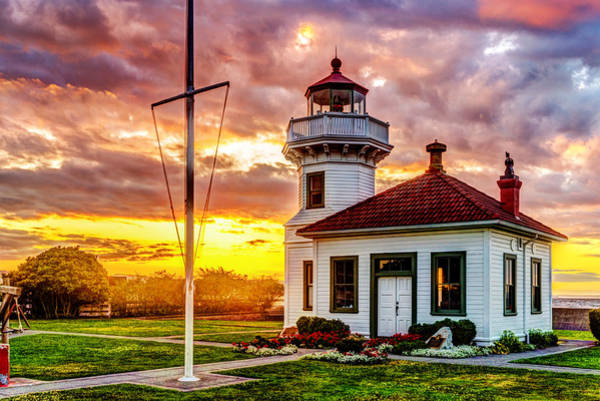 Photograph - Mukilteo Lighthouse No. 2 by TL  Mair