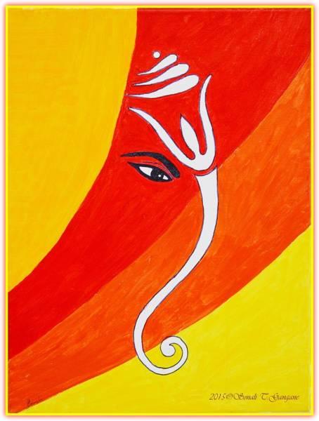 Ganesh Chaturthi Painting - Muktidaya-bestower Of Eternal Bliss by Sonali Gangane