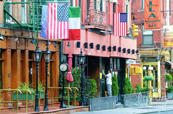 Photograph - Mulberry Street Pride In New York City by John Rizzuto