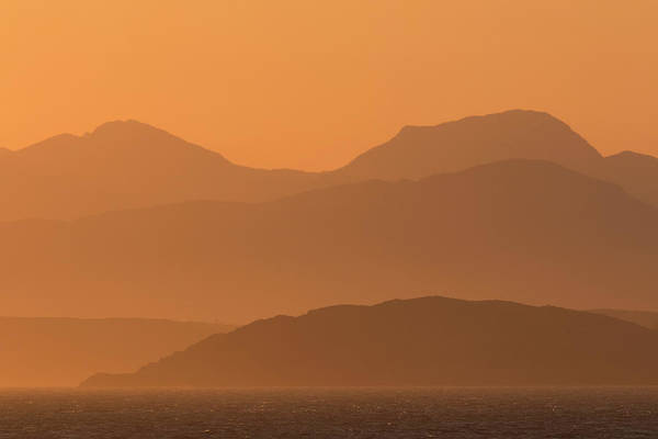 Photograph - Mull Sunrise by Karen Van Der Zijden
