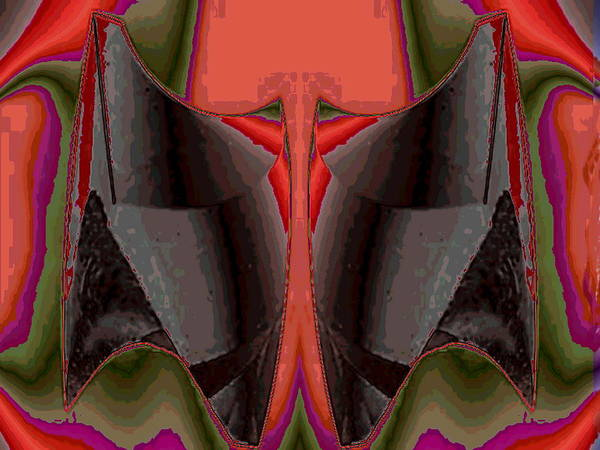 Digital Art - Multi Color Bolero  by Mary Russell