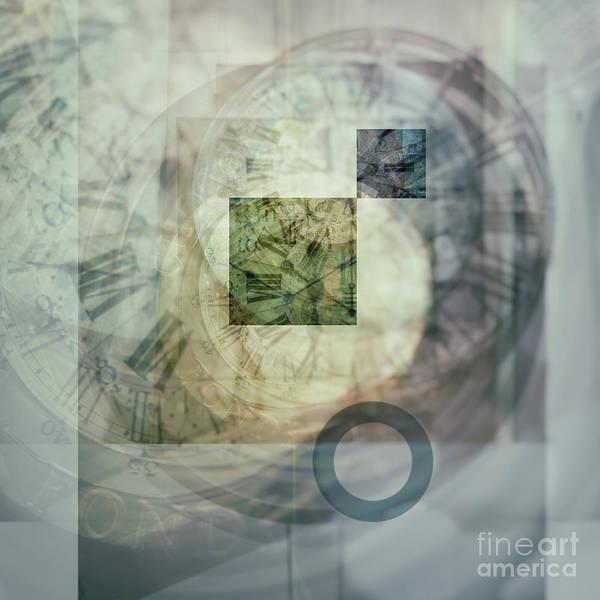 Digital Art - Multi Exposure Clock by Ariadna De Raadt