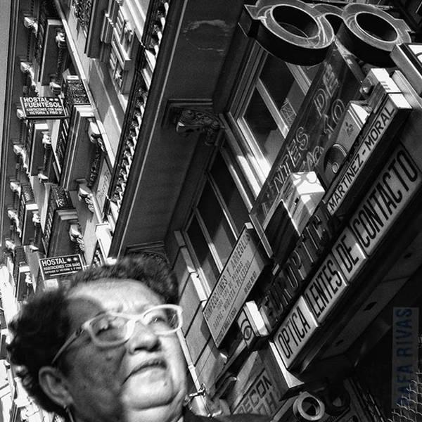 Wall Art - Photograph - Multi Glasses Lady  #lady #woman by Rafa Rivas