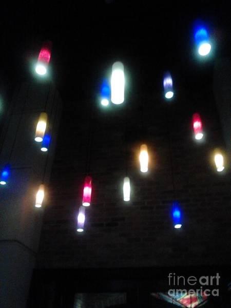 Multi Colored Lights Art Print