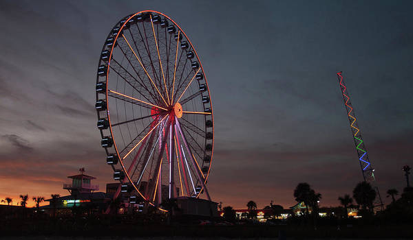Photograph - Multi Wheel by Ree Reid