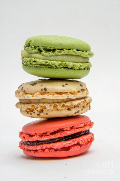 Wall Art - Photograph - Multicolored Macaroons by Bernard Jaubert