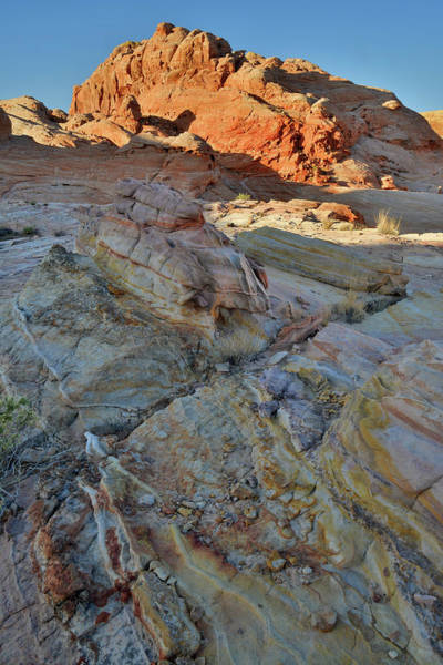 Photograph - Multicolored Sandstone In Wash 3 Of Valley Of Fire by Ray Mathis