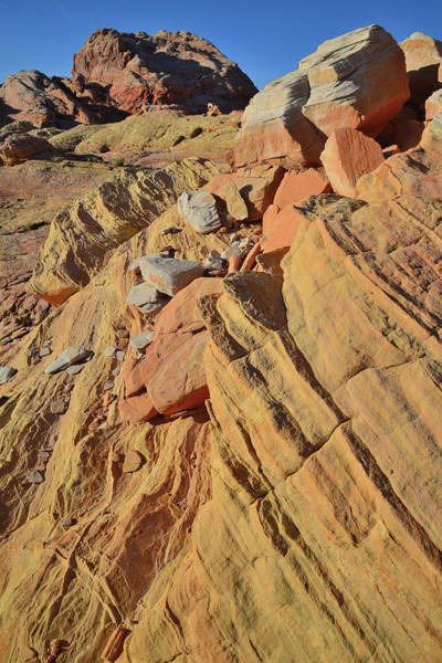 Photograph - Multicolored Sandstone Of Valley Of Fire State Park by Ray Mathis