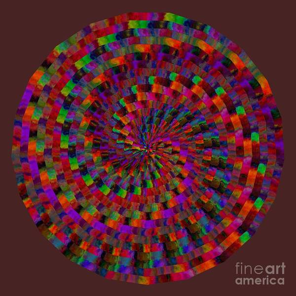 Digital Art - Multicolored Twist by Ruth Moratz
