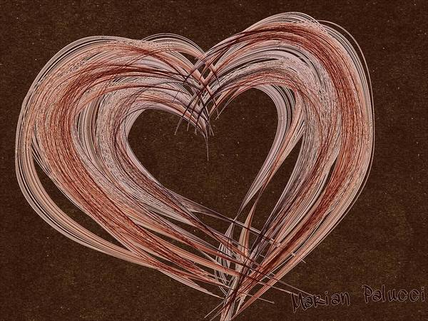 Painting - Multiple Myeloma Heart... by Marian Palucci-Lonzetta