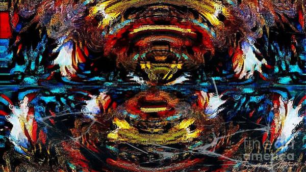 Digital Art - Multiple Reflections by Swedish Attitude Design