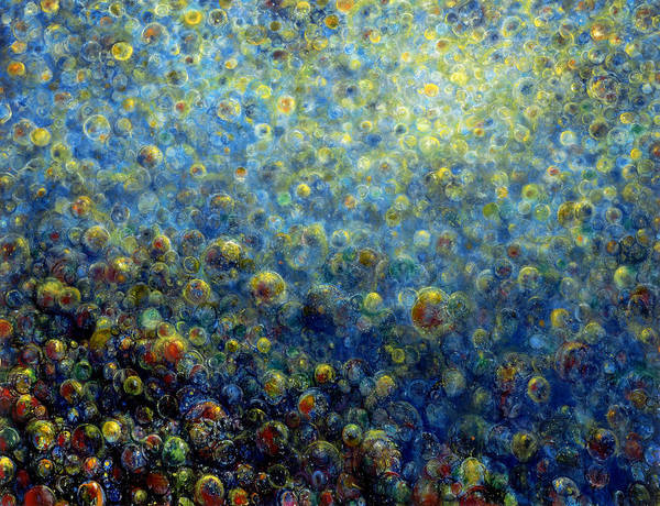 Wall Art - Painting - Multiverse by De Es Schwertberger
