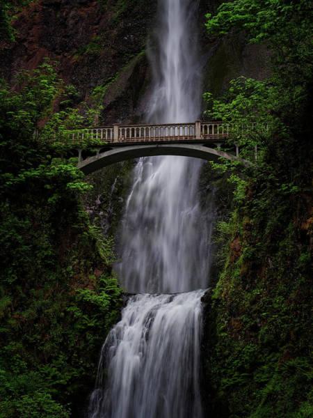 Photograph - Multnomah Falls 3 by Thomas Hall