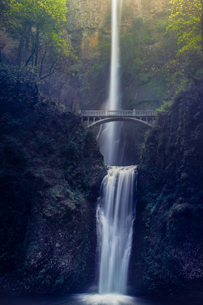 Photograph - Multnomah Falls by Chuck Jason