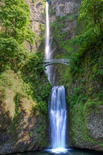 Wall Art - Photograph - Multnomah Falls by Drew Castelhano