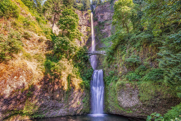 Wall Art - Photograph - Multnomah Falls II by Drew Castelhano