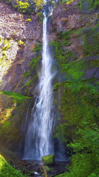Wall Art - Photograph - Multnomah Upper Falls by Art Spectrum