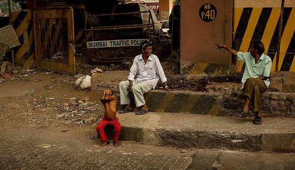 Photograph - Mumbai Traffic by M G Whittingham