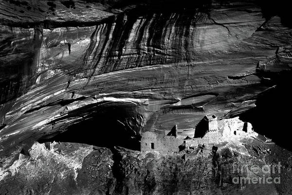 Wall Art - Photograph - Mummy Cave - Bw by Paul W Faust -  Impressions of Light