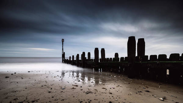 Photograph - Mundesley Beach by James Billings