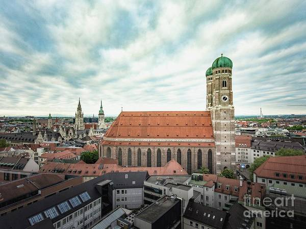Photograph - Munich - Frauenkirche by Hannes Cmarits