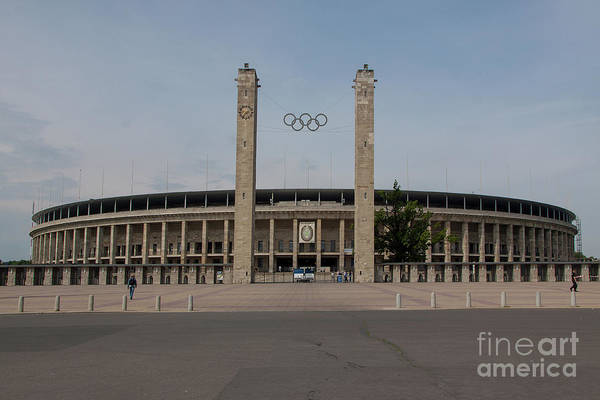 Wall Art - Photograph - Berlin Olympic Stadium by Smart Aviation
