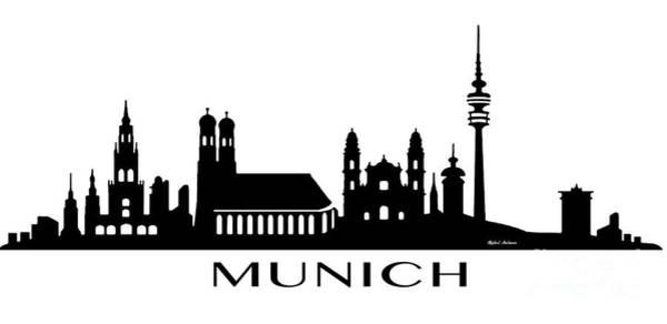 Digital Art - Munich by Rafael Salazar