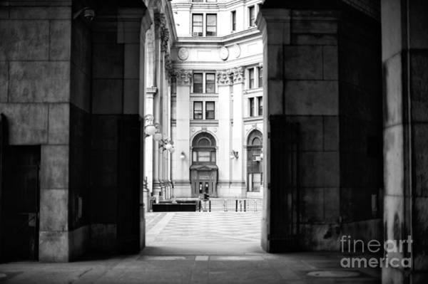 Wall Art - Photograph - Municipal Building Light And Shadow by John Rizzuto