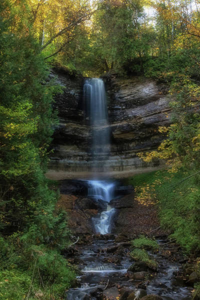 Wall Art - Photograph - Munising Falls by Heather Kenward
