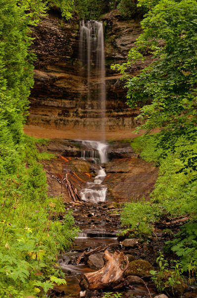 Photograph - Munising Falls by Thomas Gaitley