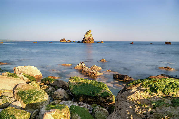 Photograph - Mupe Rock And Shore by Framing Places