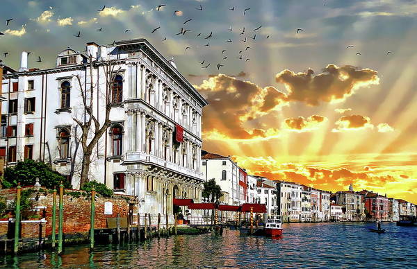 Photograph - Murano Sunrise by Anthony Dezenzio