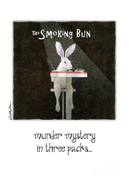 Rabbit Painting - Murder Mystery In Three Packs... by Will Bullas
