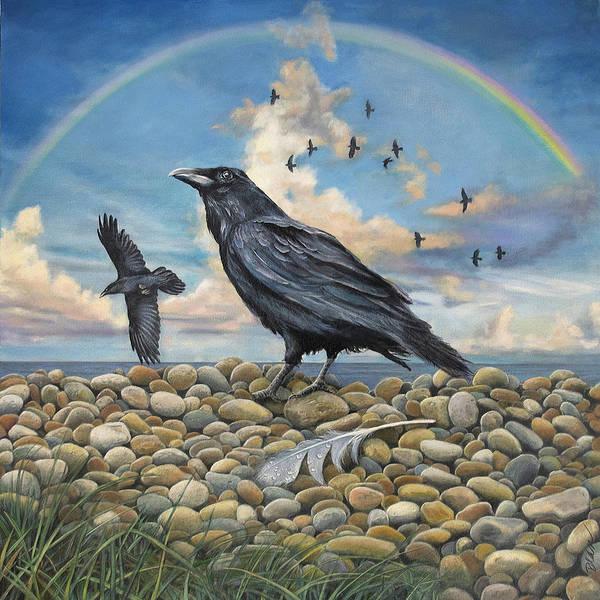 Clovis Painting - Murder On The Beach by Clovis Rusk