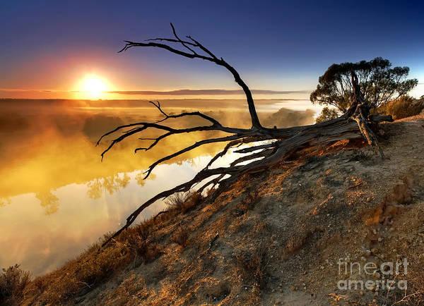 Wall Art - Photograph - Murray River Sunrise by Bill  Robinson