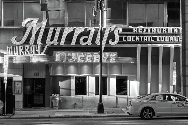 Cocktail Lounge Photograph - Murray's Restaurant Minneapolis by Jim Hughes