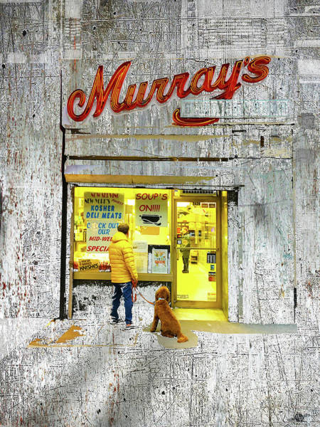 Mixed Media - Murray's by Tony Rubino