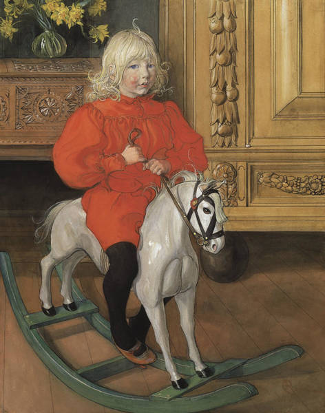 Painting - Murre - Portrait Of Casimir Laurin by Carl Larsson