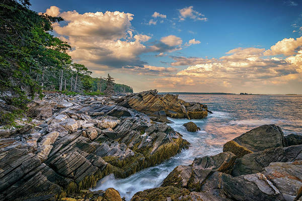 Turmoil Photograph - Muscongus Bay by Rick Berk