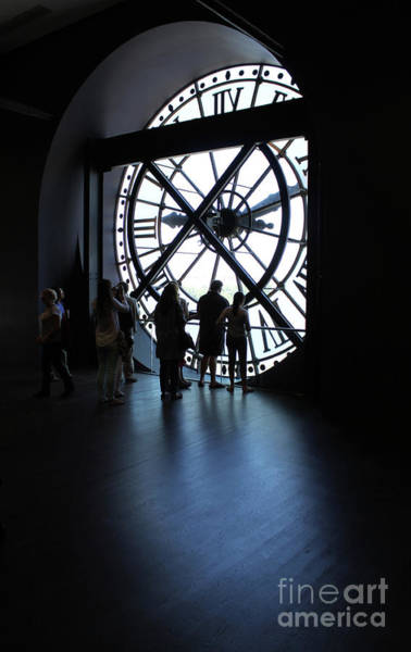 Photograph - Musee D Orsay Clock Paris France by Gregory Dyer