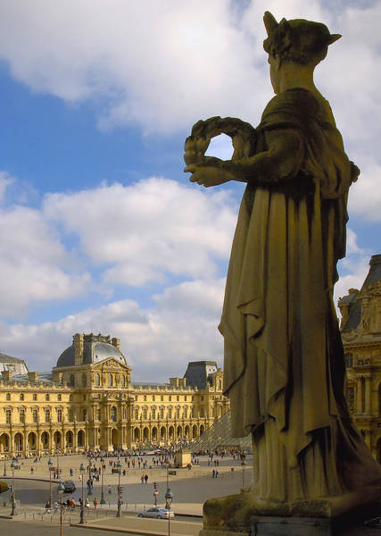 Photograph - Musee Du Louvre by Mick Burkey