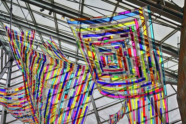 Photograph - Museum Atrium Art #2 by Stuart Litoff