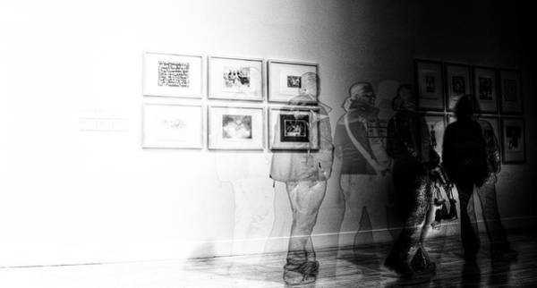 Tate Photograph - Museum Ghosts by Andrea Barbieri