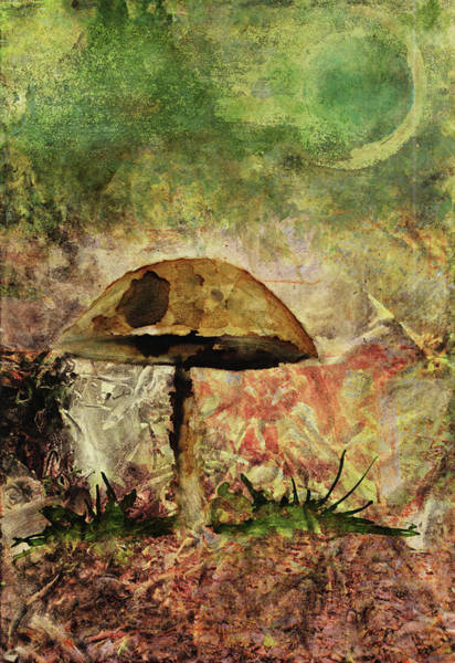 Painting - Mushroom by Christina VanGinkel
